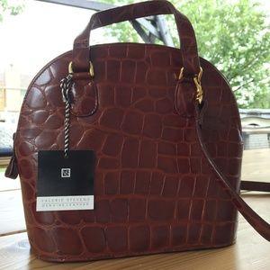 Valerie Stevens Genuine Leather Bag